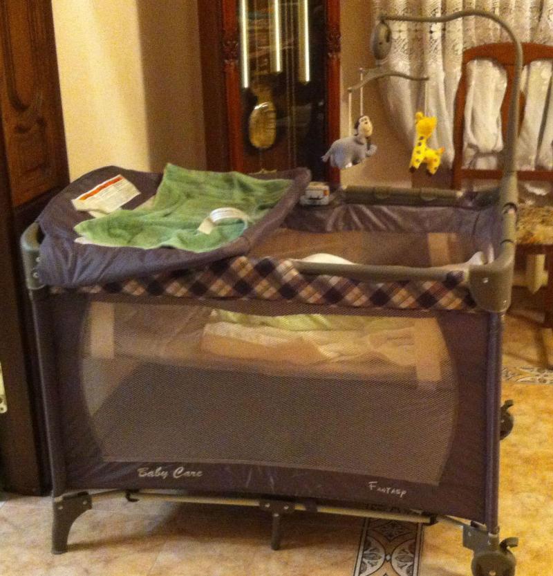 Кровать-манеж Baby Care